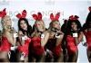 FOTO FILE: Pose kelinci Playboy saat upacara pembukaan kasino Playboy Cancun pada 4 Desember 2010. REUTERS / Henry Romero / File Foto CNA)