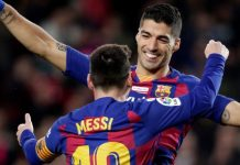 Luis Suarez dan Lionel Messi (TEAMtalk)