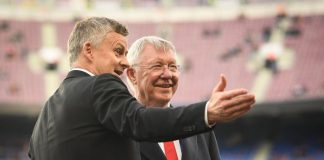 Ole Gunnar Solskjaer (kiri) bersama Sir Alex Ferguson. (Getty Image via MEN Sport)