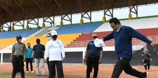 Pjs Gubernur Kepri Bahtiar di Gelora Sri Tri Buana