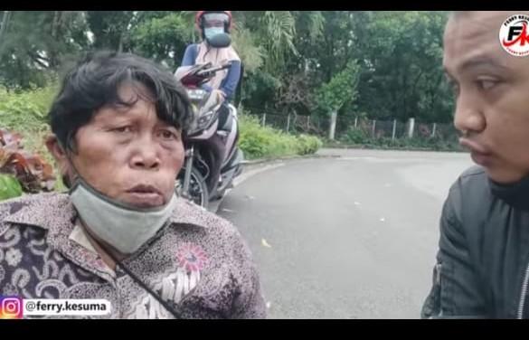 Foto korban pengemis dan yootuber