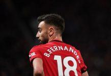 Bruno Fernandes, pemain No 18 Manchester United ditunjuk sebagai kapten menggantikan Harry Maguire. Ini dikaitkan dengan hal-hal mistis karena PSG vs MU kembali bentrok setelah terakhir kali berhadapan 18 bulan silam. (Foto dari Metro)