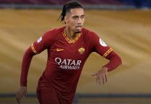 Chris Smalling berseragam AS Roma (Foto: manutd.com)