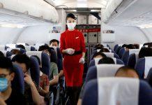 Studi baru oleh pemerintah AS menunjukkan perjalanan udara mungkin lebih aman daripada yang diperkirakan sebelumnya. (Foto ilustrasi)