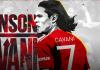 Edinson Cavani dapat jerseny nomor 7, nomor keramat di Manchester United. (Foto: manutd.com)