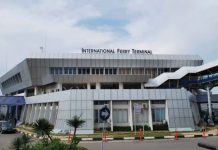 Foto Pelabuhan International Ferry Terminal Batam Center