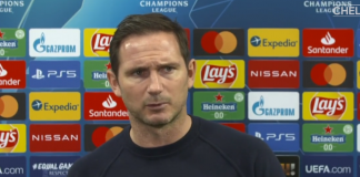 Manajer Chelsea Frank Lampard. (Tangkapan layar Chelseafc.com)