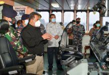 Peninjauan dilakukan Bahtiar, Kamis (8/10) di Batam, diatas KRI Semarang, yang beroperasi perairan Kepri dan parkir di Pelabuhan Batuampar.