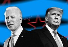 Joe Biden dan Donald Trump. (Sumber: NBC News)