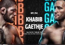 Statistik dan Link Live Streaming pertarungan UFC 254 antara Khabib Nurmagomedov ditantang Justin Gaethje. (UFC.com)