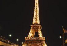 Menara Eiffel di Paris, Prancis. Foto Ilustrasi.