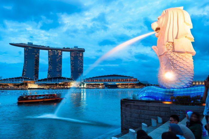 Merlion Park, Singapura. (Foto: language-int.com)