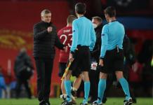 Manajer MU Ole Gunnar Solskjaer usai pertandingan melawan Leipzig di Old Trafford, pada penyisihan Grup H Liga Champions, Kamis (29/10/2020). MU menang 5-0 di laga ini.(Foto: UEFA.COM)