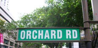 Orchard Road di Singapura.