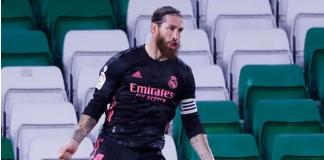 Kapten Real Madrid Sergio Ramos diharapkan akan kembali bermain malam ini. Dia adalah pemain yang paling banyak tampil di El Clasico dibanding pemain lainnya. (Foto: reuters via Sportsmole)