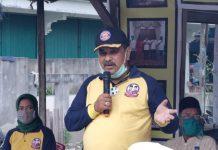 Cabup Karimun Aunur Rafiq saat kampanye dialogis di Kolong Bawah, Selasa (6/10/2020). Foto Suryakepri.com/Rachta Yahya