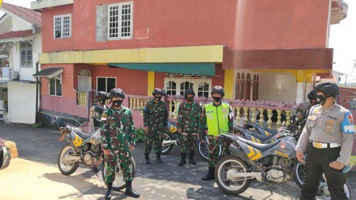 TNI-Polri saat menggelar patroli gabungan di Tanjungpinang (Suryakepri.com)