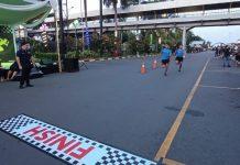 DPD AMPI Kota Batam, menggelar rangkaian acara diantara nya bazaar UMKM dan kegiatan lomba balap lari di Megamall, Batam Center, Minggu (18/10/2020)