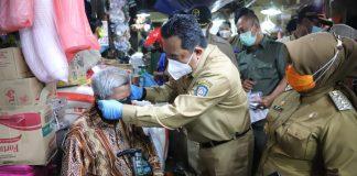 Pjs. Gubernur Kepulauan Riau H. Bahtiar melakukan Peninjauan Sarana dan Prasarana Penerapan Protokol Kesehatan