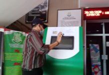 Direktur Utama PT TMB BUMD Tanjungpinang saat mendatangi kantor Kejari Tanjungpinang (Suryakepri.com/Muhammad Bunga Ashab)