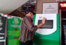 Fahmi saat hendak diperiksa jaksa pada Kejari Tanjungpinang (Suryakepri.com/Muhammad Bunga Ashab)