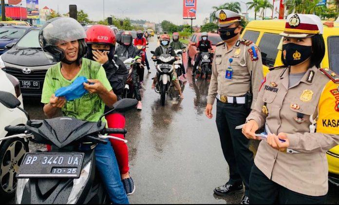 Foto. Satlantas Polresta Barelang menggelar Operasi Zebra Seligi 2020,