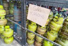 foto. gas tabung LPG 3 kg