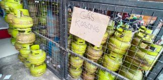 Ilustrasi, gas LPG (Suryakepri.com/Muhammad Bunga Ashab)