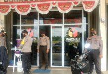 Satuan Sabhara Polres Bintan saat melaksanakan patroli diologis (Suryakepri.com)
