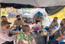 Keamanan di kantor Bawaslu Batam dilakukan selama 1x24 jam, yang di pimpin oleh Kasat Sabhara Polresta Barelang Kompol Firdaus.