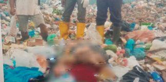 Foto jasad laki-laki ditemukan pemulung di Tempat Pembuangan Akhir (TPA) atas Punggur, Nongsa, Rabu (28/10/2020) sekitar pukul 11.30 WIB.