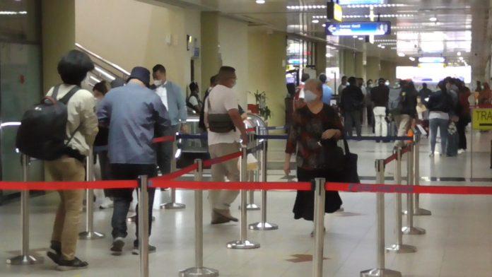 Situasi di Bandara Internasional Hang Nadim Batam