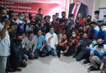 Foto Gerakan Pemuda Ber-SINERGI LUAR BIASA dukung Soerya-Iman dan Lukita -Basyid