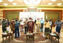Pjs. Gubernur Kepri Bahtiar Baharuddin mengikuti puncak acara Hari Sumpah Pemuda ke-92 tahun 2020