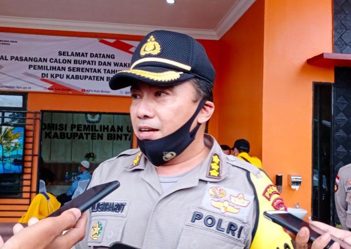 Kabid Humas Polda Kepri Kombes Pol Harry Goldenhardt. (Foto: Suryakepri.com/Muhammad Bunga Ashab)