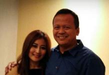 Anggota Komisi V DPR-RI Iis Rosita Dewi bersama suaminya, Edhy Prabowo yang saat ini mennjabat Menteri Kelautan dan Perikanan. Pasangan suami-istri pejabat negara ini diciduk Komisi Pemberantasan Korupsi (KPK) di Bandara Soekarno-Hatta, Cengkareng, pada Rabu (25/11/2020) sekitar pukul 01.28 dinihari WIB. (Foto: Instagram)