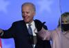 Joe Biden dari Partai Demokrat kemungkinan akan memenangkan Pilpres AS 2020 untuk menggantikan Donald J Trump dari Partai Republik. (Foto dari Guardian)