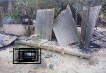 Jenazah korban pembunuhan keji yang dibakar setelah dikeluarkan dari puing-puing bangunan yang sudah terbakar dan rata dengan tanah. Peristiwa ini terjadi di Desa Lemba Tongoa, Kecamatan Palolo, Kabupaten Sigi, (Foto: Istimewa)