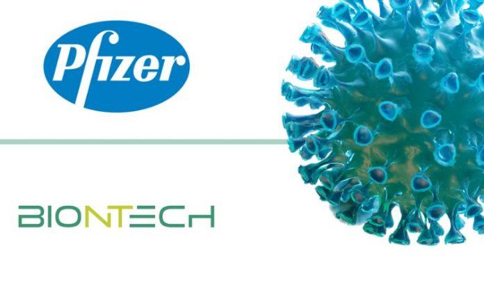 Vaksin Pfizer/BioNTech diklaim memiliki tingkat keberhasilan 90 persen dalam uji coba global. Banyak negara telah memesan, termasuk Inggris dan Uni Eropa. (Ilustrasi dari Pharma Shot)