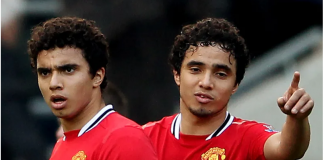 Rafael (kanan) dan Fabio da Silva, kembaran asal Brasil yang pernah berseragam Manchester United. Keduanya bergabung bersama tim muda MU hingga menembus tim senior. (Foto: Bleachreport)