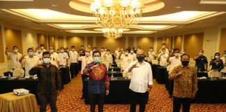 adan Pengusahaan (BP) Batam, menggelar Focus Group Discussion (FGD) yang bertajuk Pembinaan Pejabat Pengelola Informasi dan Dokumentasi (PPID) BP Batam.