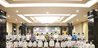 Acara Penutupan Pelaksaan TC Peserta MTQ dan Pelepasan Kalifah Provinsi Kepri di Hotel Sahid Batam Center, Batam, Rabu (11/11) malam.