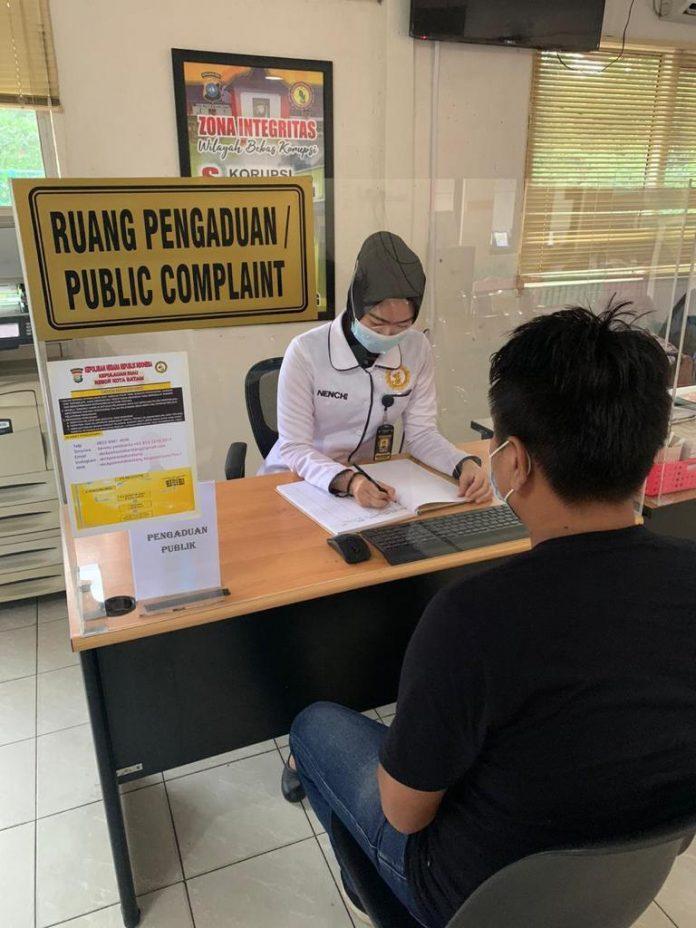 Pelayanan Penerbitan SKCK Polresta Barelang.