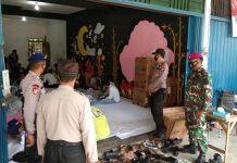 Polres Tanjungpinang saat mengamankan proses pelipatan surat suara di gudang KPU Tanjungpinang (Suryakepri.com)