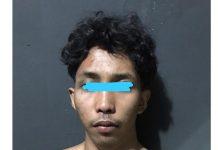 Regy saat diamankan Unit Jantanras Polres Tanjungpinang (Suryakepri.com/ist)
