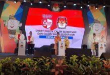 Debat Paslon Gubernur dan Wakil Gubernur Kepri