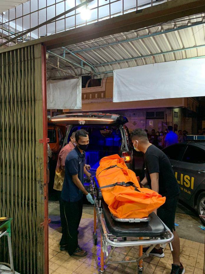Seorang remaja ditemukan tewas tergantung di dalam kamar, Ruko Bumi Indah, Lubukbaja,