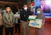 Bahtiar, saat menghadiri Ucapan Selamat Datang Kafillah MTQN Ke-28 Provinsi Kepri di Golden Prawn Bengkong Batam, Ahad (22/11).