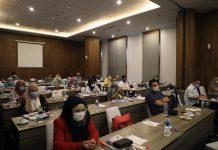 Sosialisasi internal mengenai Kawasan Perdagangan Bebas dan Pelabuhan Bebas (KPBPB) Batam, Bintan, Karimun dan Tanjung Pinang (BBKT), Senin (23/11/2020), di Swiss-Belhotel Bogor.