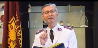 Komandan Teritorial Gereja Bala Keselamatan Indonesia, Kolonel Yusak Tampai. (Foto: tangkapan layar video)